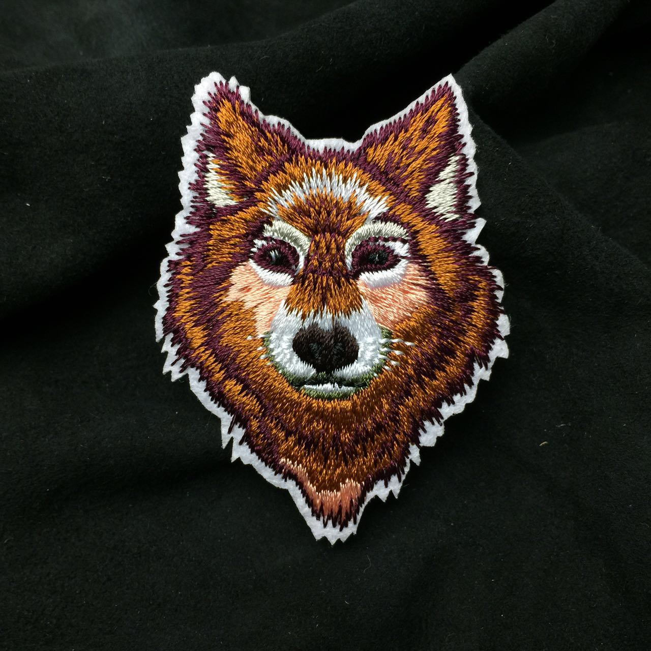 Custom Animal Pattern Embroidery Patch